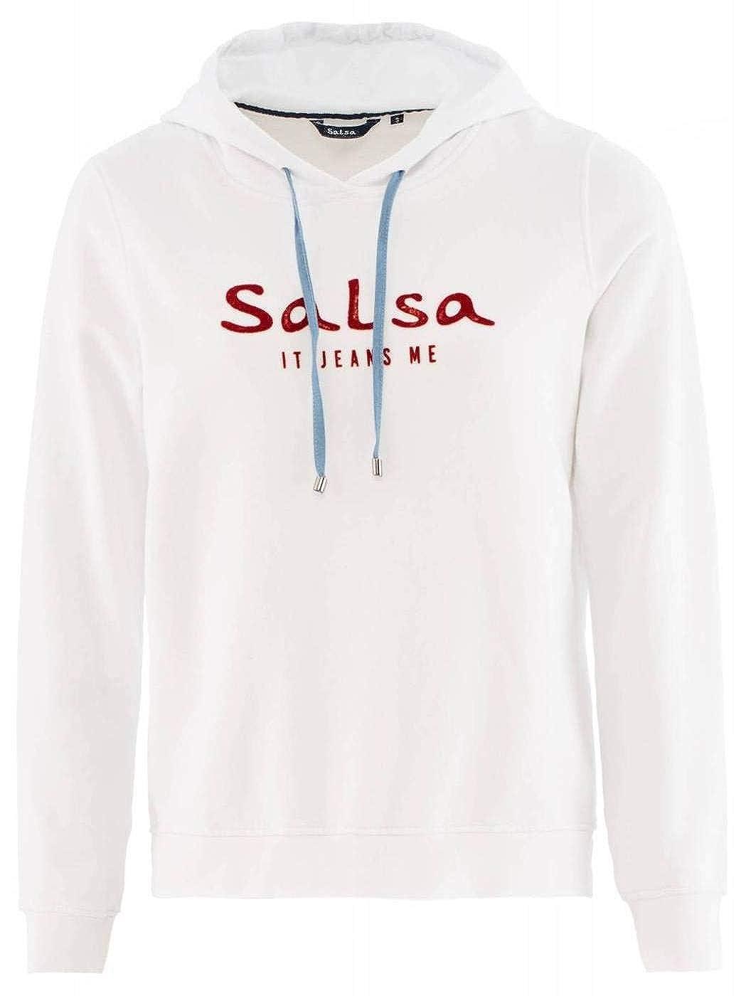 Salsa Sudadera com Branding Capucha