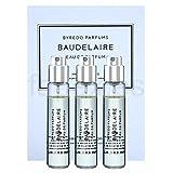 Byredo Baudelaire Travel Spray Set of 3 X 12 Ml EDP