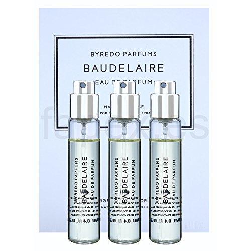 Byredo Baudelaire Travel Spray Set of 3 X 12 Ml EDP by Byredo