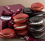 Gourmet Chocolate and Red Velvet Whoopee Pies