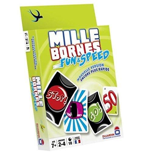 dujardin 59047 jeu de cartes mille bornes fun et speed la caverne du jouet. Black Bedroom Furniture Sets. Home Design Ideas