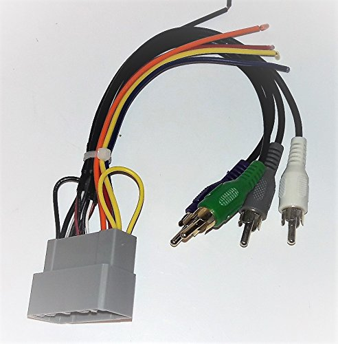 Premium system Wire harness for Installing a new radio into a Dodge, Ram Pickup, 2002, 2003, (Wire Amp Harness Dodge Ram)