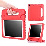 iPad Mini 1 / 2 / 3 Case, MoKo Kids Shock Proof Handle Light Weight Protective Stand Cover for Apple iPad Mini 1 (2012), iPad Mini 2 (2013), iPad Mini 3 (2014), RED (Not fit iPad Mini 4)