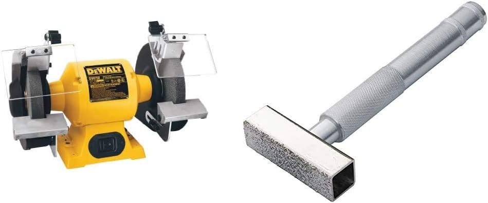 /& WEN 4288 Cast Iron Bench Grinder Pedestal Stand with Water Pot 8-Inch DEWALT Bench Grinder DW758
