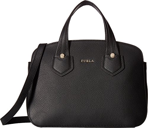 Furla Women's Giada Small Tote with Zip Onyx Handbag