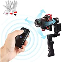 CAME-TV Optimus 3 Axis Handheld Gimbal Stabilizer with Sigle/Dual Handle Operation, 3-Axis 360 degrees Unlimited Rotation, 10hrs Runtime and 2.6lb Playload for Sony A7 Series Panasonic GH4 BMPCC