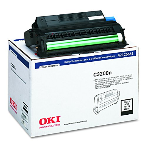 Yield Black 15000 (Oki Black Image Drum, 15000 Yield, Ships with 1000 Yield Toner (42126661))