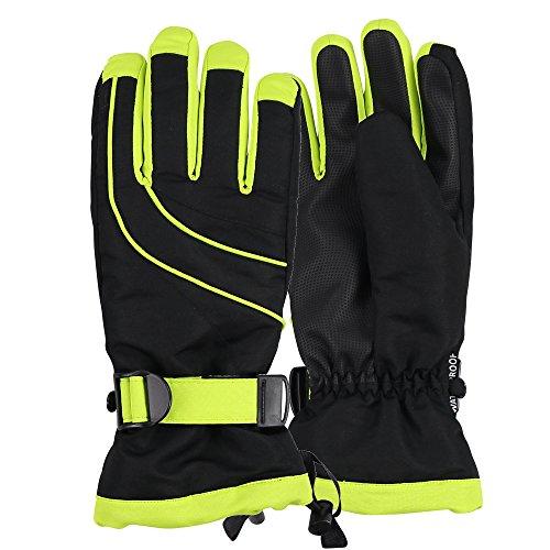 Urban Boundaries Womens Warm Winter Waterproof Thinsulate Snow Gloves