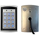 RNT-230SADK dual relay output access controller weatherproof (keypad/reader) for two doors