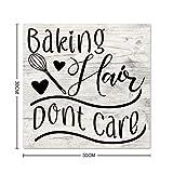 EricauBird Baking Hair Dont Care Wood