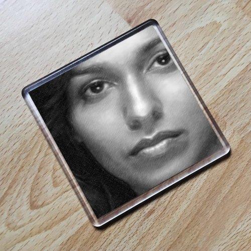 Seasons Rekha Sharma - Original Art Coaster #js002 ()