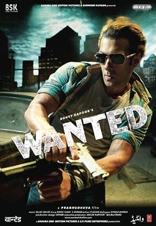 Hindi Movie Cinema Wanted By Salman Khan Amazon Co Uk Dvd Blu Ray