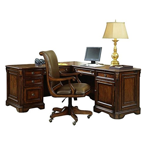 Hooker Furniture Brookhaven Executive L-Shaped Right Return (Executive Right L-shaped Desk)