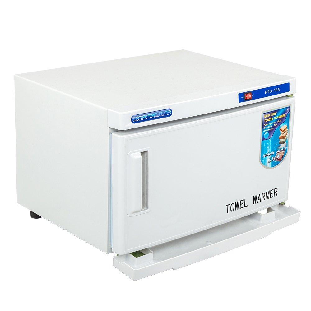 Towel Warmer Hot Cabinet UV Sterilizer, Professional Tabletop Ultraviolet UV Tool Sterilizer Cabinet, Beauty Salon Spa Nail Facial Skin Tattoo Home Health Care by OCHII