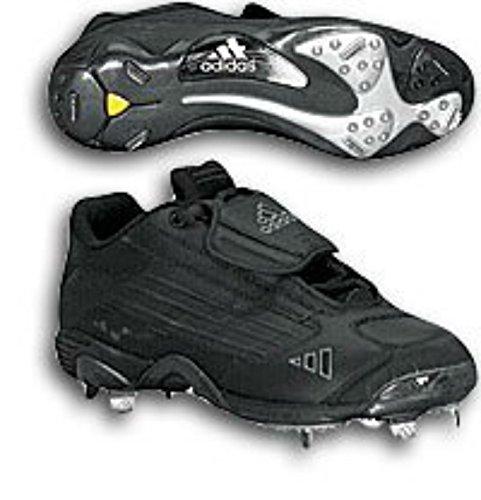 adidas Men's Excelsior Lo (sz. 16.0, Black/Black/Lead)