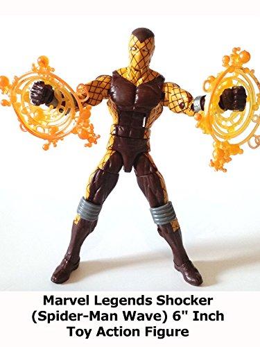 Review: Marvel Legends Shocker (Spider-Man Wave) 6