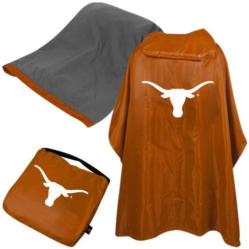 NCAA Texas 3 in 1 Rain Poncho