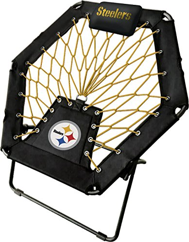 Imperial Officially Licensed NFL Furniture: Premium Bungee Chair, Pittsburgh Steelers