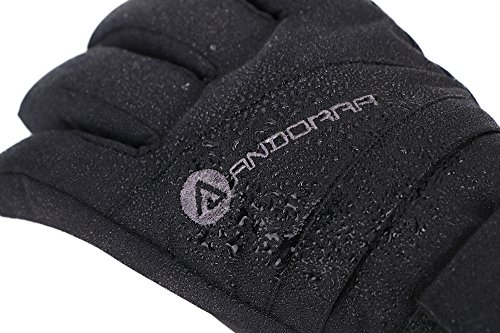 Large Product Image of Andorra Women's Classic Zippered Pocket Touchscreen Ski Glove