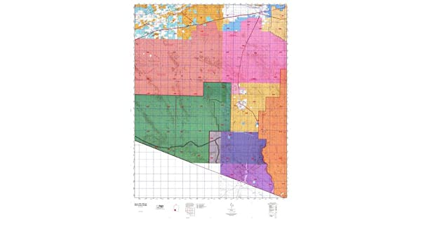 Map Of East Arizona.Arizona Gmu 40b East Hunt Area Game Management Units Gmu Map