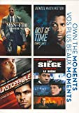 DVD : Man On Fire / Out Of Time / Unstoppable / The Siege (Own the Moments)