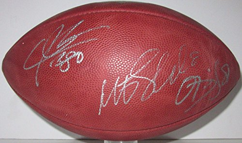 Schaub, Johnson, Daniels Signed Authentic Wilson Duke Nfl Game Football - PSA/DNA Certified - Autographed College (Autographed Nfl Duke Game Football)