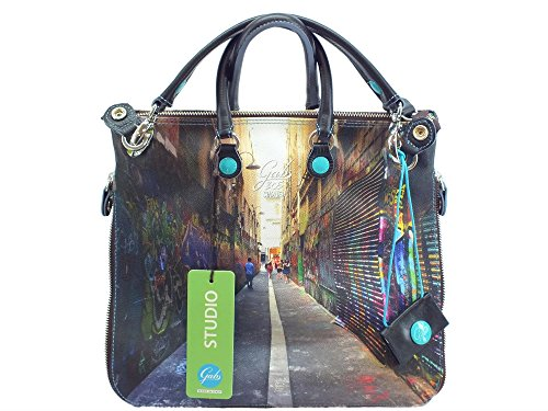 Borsa Gabs modello Shopping Trasformabile Week 305 Sydney Small Multicolore