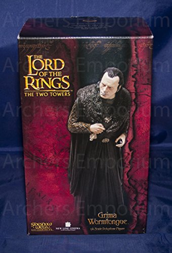 - Grima Wormtongue Statue - Lord of the Rings - Polystone - Limited Edition - Numbered - Mint in Box