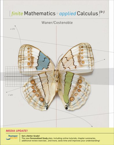 Finite Mathematics and Applied Calculus, Enhanced Review Edition (with CengageNOW 2-Semester and Personal Tutor Printed