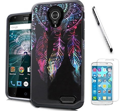 zte-warp-7-case-zte-grand-x-3-case-boost-mobile-cricket-luckiefind-ultra-thin-rugged-silicone-gel-sk