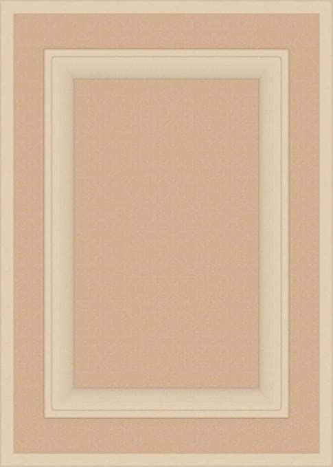14H x 15W Kendor Unfinished MDF Cabinet Door Square with Raised Panel