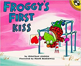 Book Froggy's First Kiss