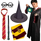 Novelty Scarf Wizard 5 pcs Cosplay Set for