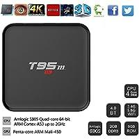 TV Box , Lary Intel Mini Android 6.0 Smart TV Box Octa Core 2GB DDR3+8GB WiFi HDMI 3D 4K HD Media Player Tv Box Remote