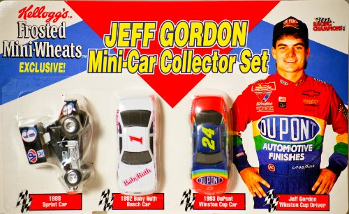 1994-racing-champions-kelloggs-frosted-mini-wheats-exclusive-jeff-gordon-mini-car-collector-set-164-