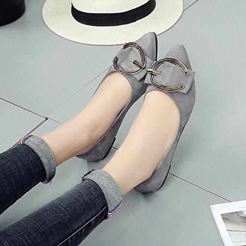 Moda Zapatos Estudiante Casual Mujeres m Las de los Mujer Mujer XXM Mujer de Cuatro DE Zapatos Shoes 44 Estaciones los de Zapatos Zapatos Zapatos luz de Estirar 41 de 1801 de Gris Color de 91 7qwZqa