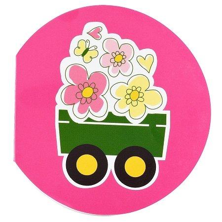 John Deere Pink Notepads (8 count) Party (John Deere Favor)