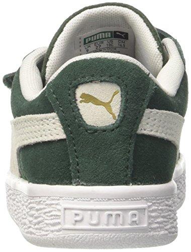 Verde Bambini pineneedle Inf Puma puma Basse Classic Unisex Da Scarpe White Suede V Ginnastica UwvxPBq
