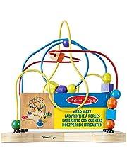 Melissa & Doug Laberinto clásico de cuentas (Juguete educativo de madera) , color/modelo surtido
