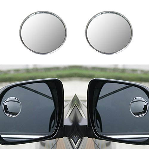 4-inch Round Blind Spot Mirror, Rear-View Under Mirror, No Blind Area Big Depending On The Wide Angle Lens Spherical Mirror