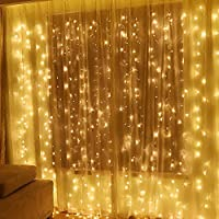 Twinkle Star 600 LED Window Curtain String Light for...