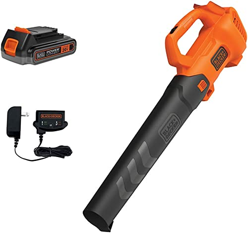 beyond by BLACK DECKER 20V MAX Cordless Leaf Blower – Leaf Blower Kit – Axial, Battery and Charger Included – Lawn Tools Model Number BCBL700D1AEV