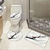 Best Buds T Shirt Sets - jwchijimwyc Dragonfly 3 Piece Bath mat Set Branch Review