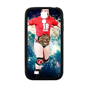 Happy WWE Wrestling Fighter Black Phone Case for Samsung Galaxy S4