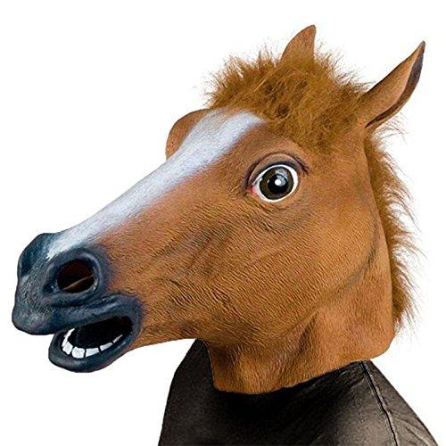 Costumes Horsehead (LightInTheBox Popular Horsehead Mask for Halloween Party(1 Pc) Animal Heads)