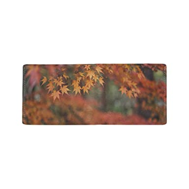 Amazon.com: Scorch Hermoso monedero de arce con hojas ...