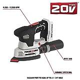 PORTER-CABLE 20V MAX Sheet Sander, Tool Only