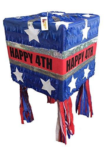 Happy 4th Pinata Patriotic Pinata Fourth of July
