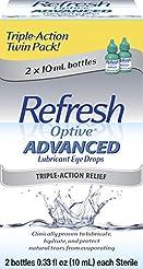 Refresh Optive Advanced, 0.33 Fl Oz (2 C...