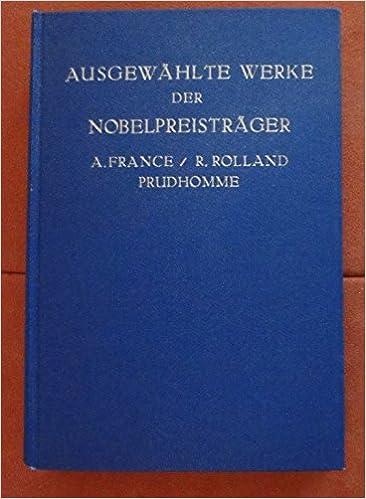 Ausgewählte Werke Der Nobelpreisträger Zweiter Band